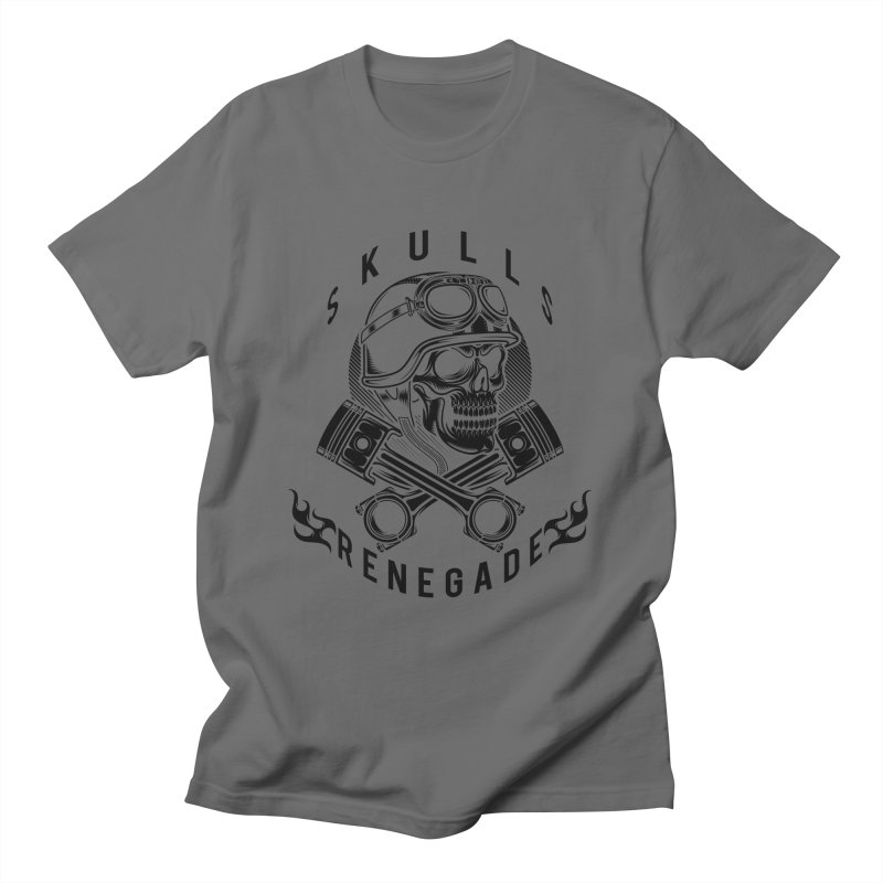 Skulls Renegade MC Men's T-Shirt by elizabethknox's Artist Shop