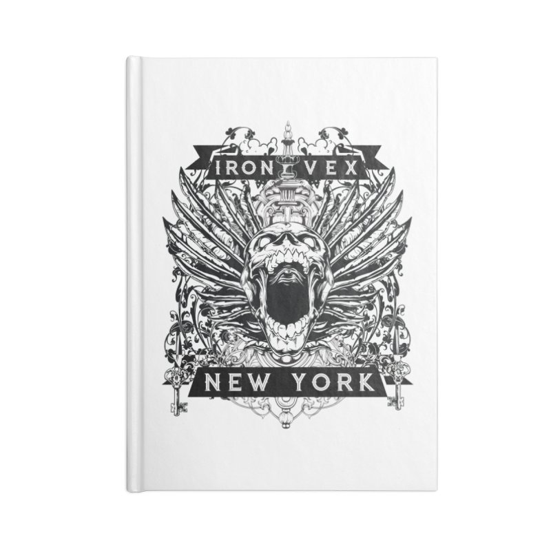 Iron Vex MC Accessories Notebook by elizabethknox's Artist Shop