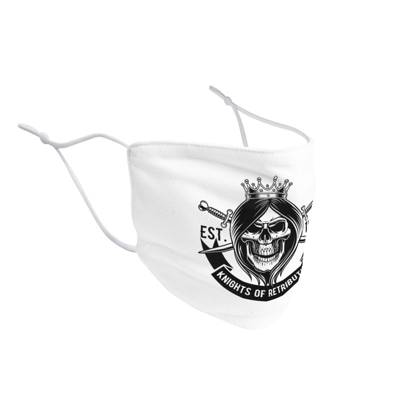 Knights of Retribution MC Accessories Face Mask by elizabethknox's Artist Shop