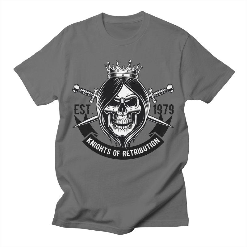 Knights of Retribution MC Men's T-Shirt by elizabethknox's Artist Shop