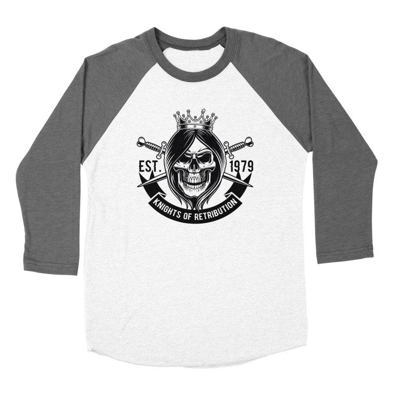 Knights of Retribution MC Women's Longsleeve T-Shirt by elizabethknox's Artist Shop