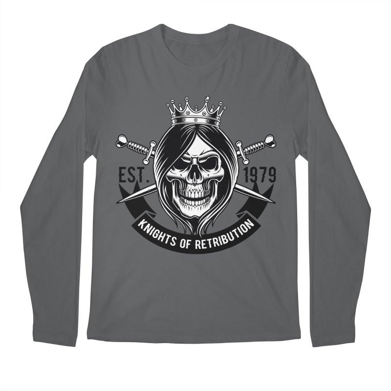 Knights of Retribution MC Men's Longsleeve T-Shirt by elizabethknox's Artist Shop