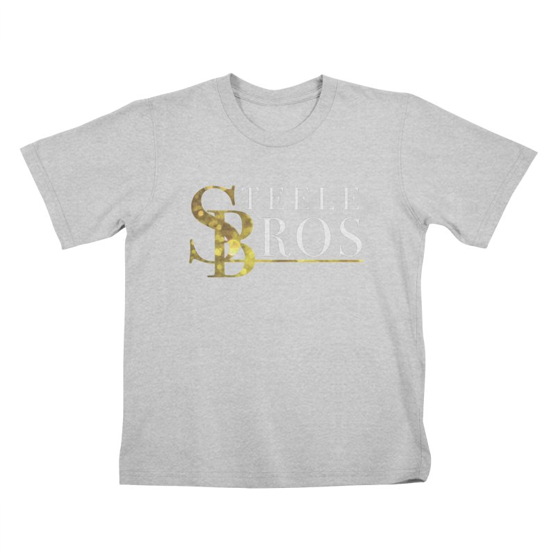 Steele Bros Kids T-Shirt by elizabethknox's Artist Shop