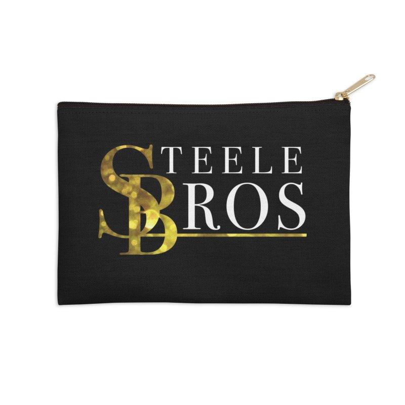 Steele Bros Accessories Zip Pouch by elizabethknox's Artist Shop