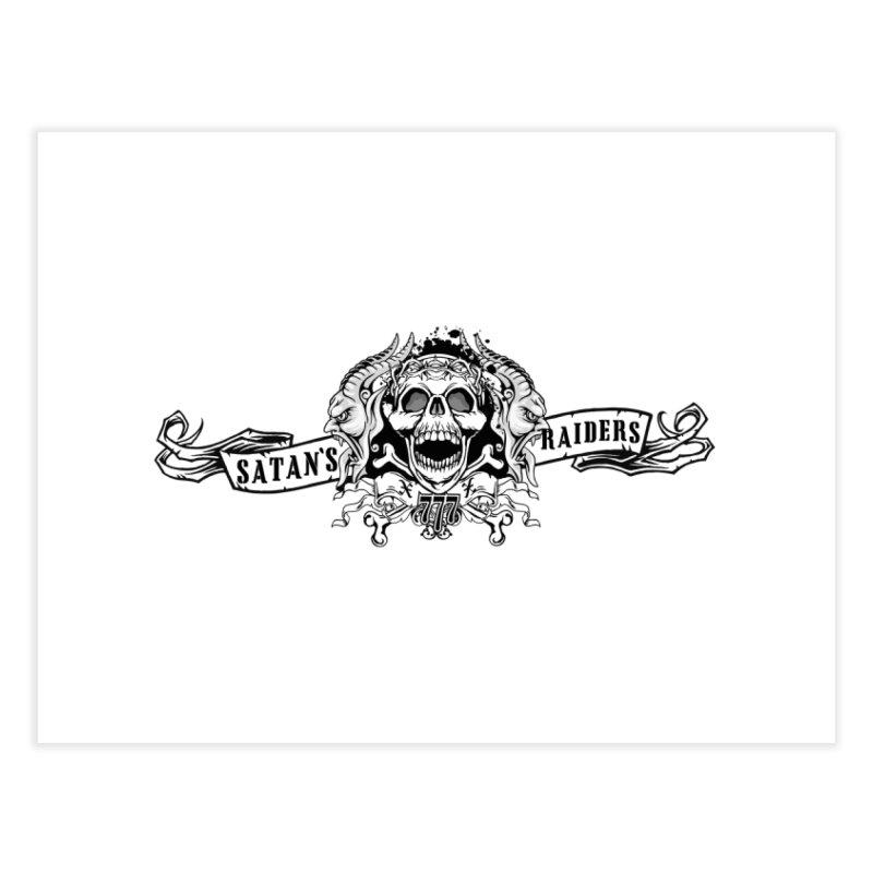 Satan's Raiders MC Home Fine Art Print by elizabethknox's Artist Shop