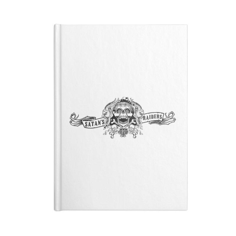 Satan's Raiders MC Accessories Notebook by elizabethknox's Artist Shop