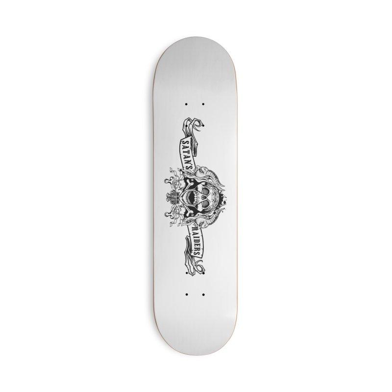 Satan's Raiders MC Accessories Skateboard by elizabethknox's Artist Shop
