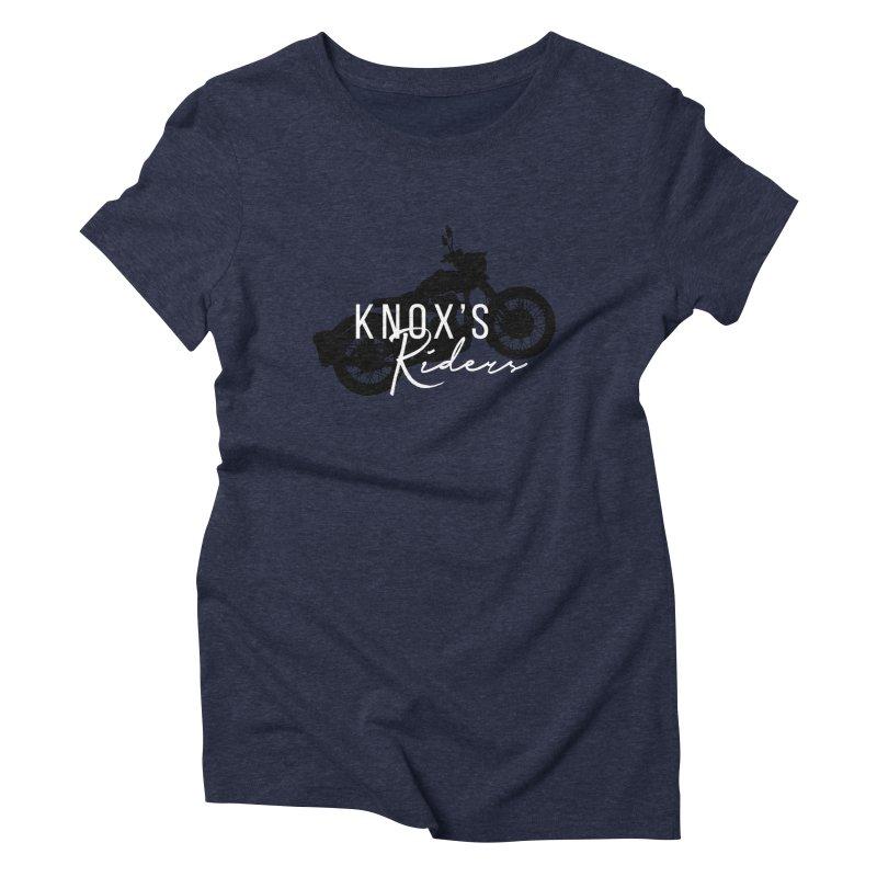 Knox's Riders Women's T-Shirt by elizabethknox's Artist Shop