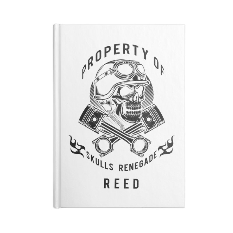 Property of Reed Accessories Notebook by elizabethknox's Artist Shop