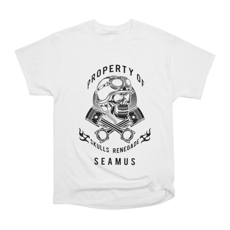 Property of Seamus Women's T-Shirt by elizabethknox's Artist Shop