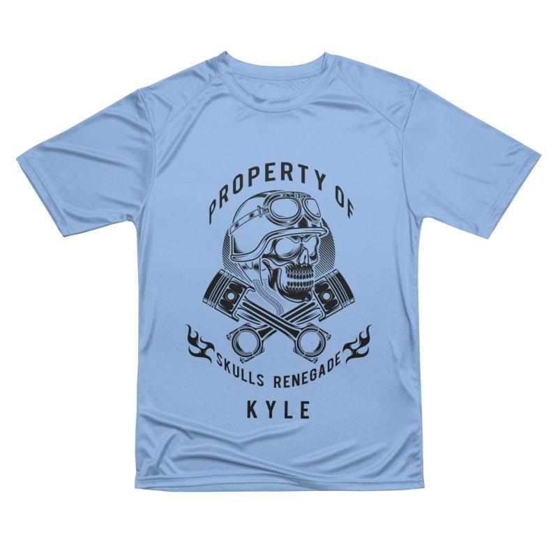 Property of Kyle Women's T-Shirt by elizabethknox's Artist Shop
