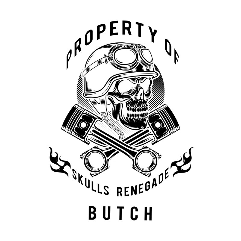 Property of Butch Accessories Phone Case by elizabethknox's Artist Shop