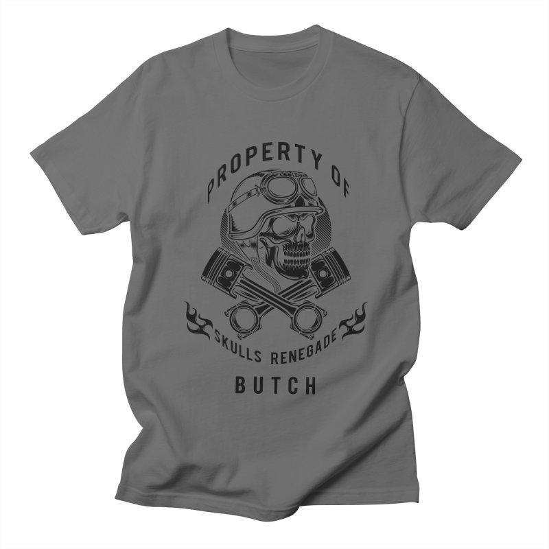 Property of Butch Men's T-Shirt by elizabethknox's Artist Shop