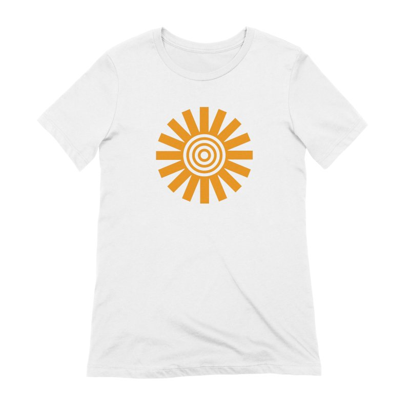 Sun Spun Women's Extra Soft T-Shirt by elizabethreay's Artist Shop