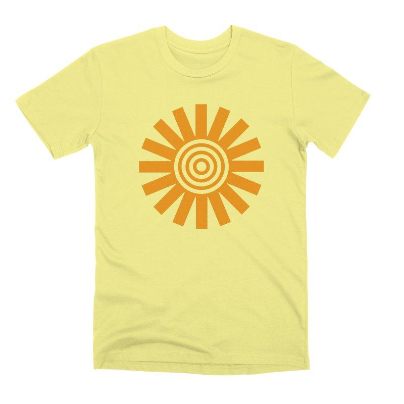 Sun Spun Men's Premium T-Shirt by elizabethreay's Artist Shop