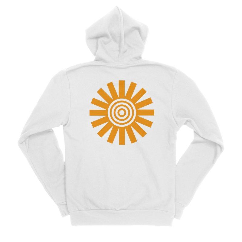 Sun Spun Men's Zip-Up Hoody by elizabethreay's Artist Shop