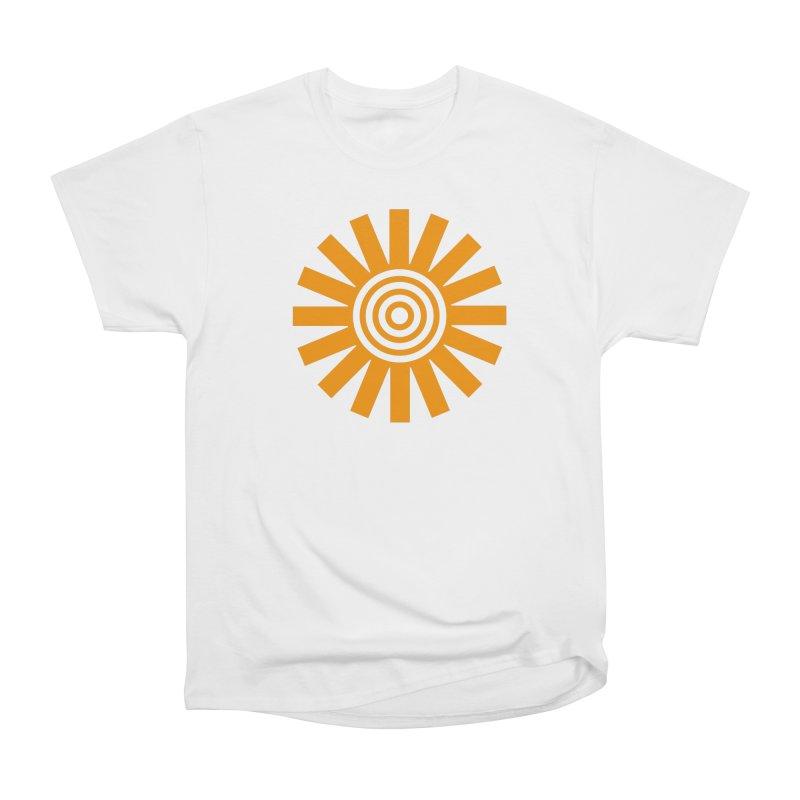 Sun Spun Men's Heavyweight T-Shirt by elizabethreay's Artist Shop