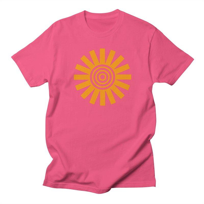Sun Spun Men's Regular T-Shirt by elizabethreay's Artist Shop
