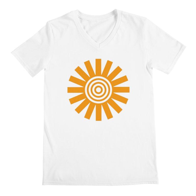 Sun Spun Men's V-Neck by elizabethreay's Artist Shop