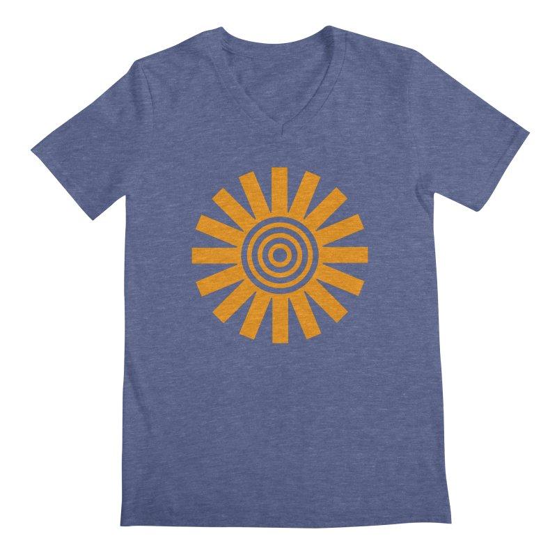 Sun Spun Men's Regular V-Neck by elizabethreay's Artist Shop