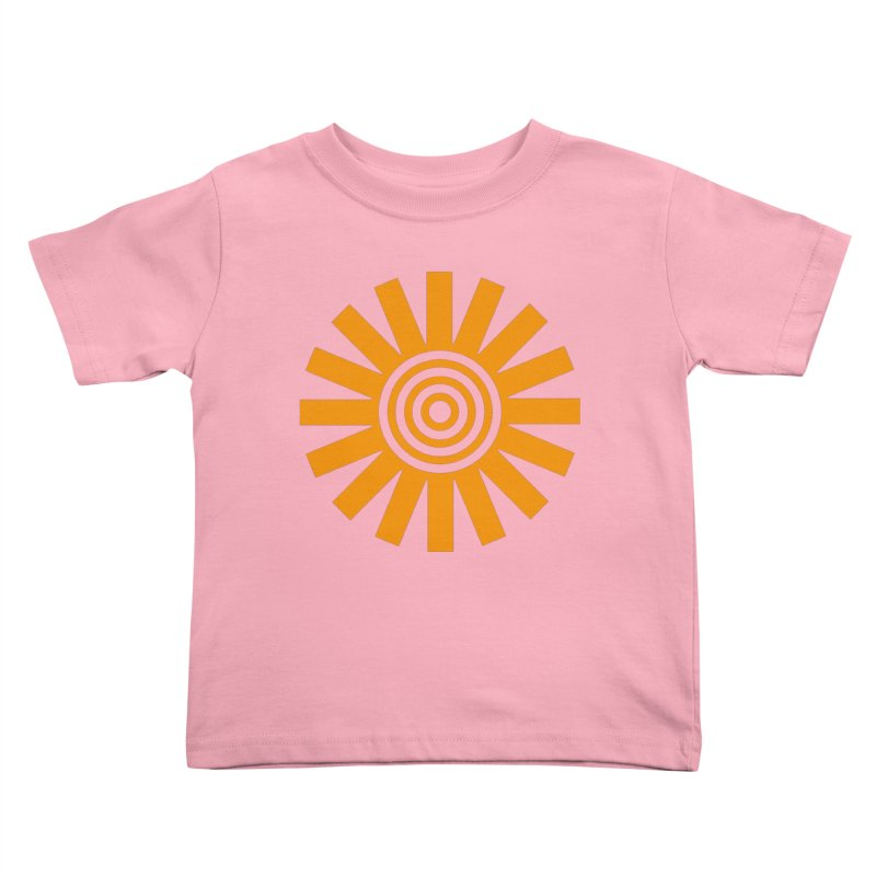 Sun Spun Kids Toddler T-Shirt by elizabethreay's Artist Shop