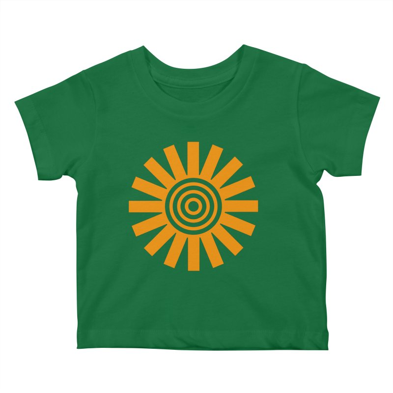 Sun Spun Kids Baby T-Shirt by elizabethreay's Artist Shop