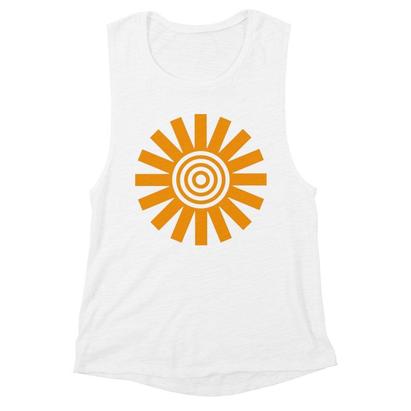 Sun Spun Women's Muscle Tank by elizabethreay's Artist Shop