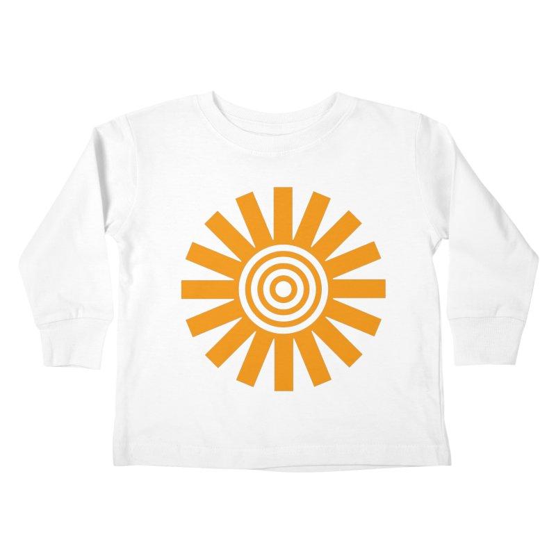 Sun Spun Kids Toddler Longsleeve T-Shirt by elizabethreay's Artist Shop
