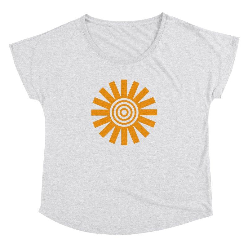 Sun Spun Women's Dolman Scoop Neck by elizabethreay's Artist Shop