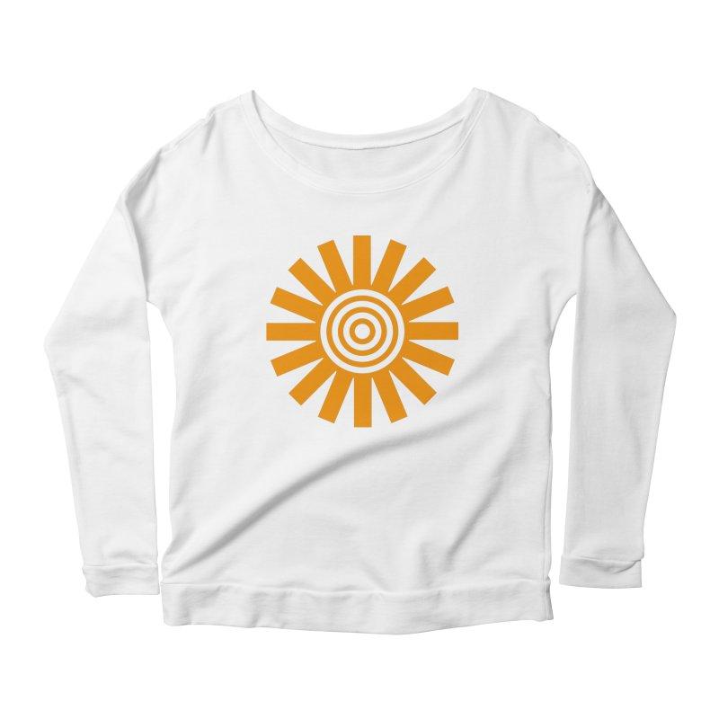 Sun Spun Women's Scoop Neck Longsleeve T-Shirt by elizabethreay's Artist Shop