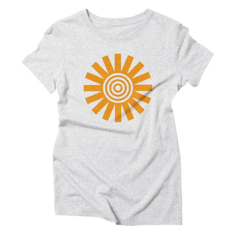 Sun Spun Women's Triblend T-Shirt by elizabethreay's Artist Shop