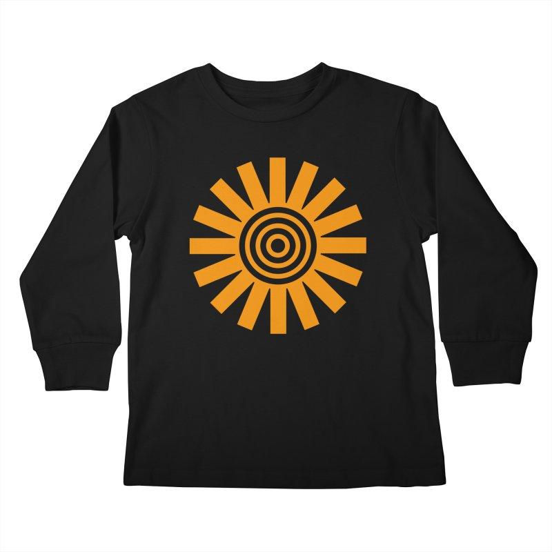 Sun Spun Kids Longsleeve T-Shirt by elizabethreay's Artist Shop