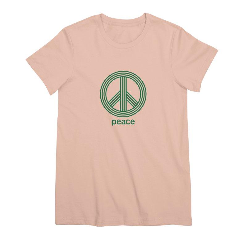 Peace Women's Premium T-Shirt by elizabethreay's Artist Shop