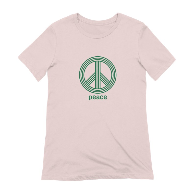 Peace Women's Extra Soft T-Shirt by elizabethreay's Artist Shop