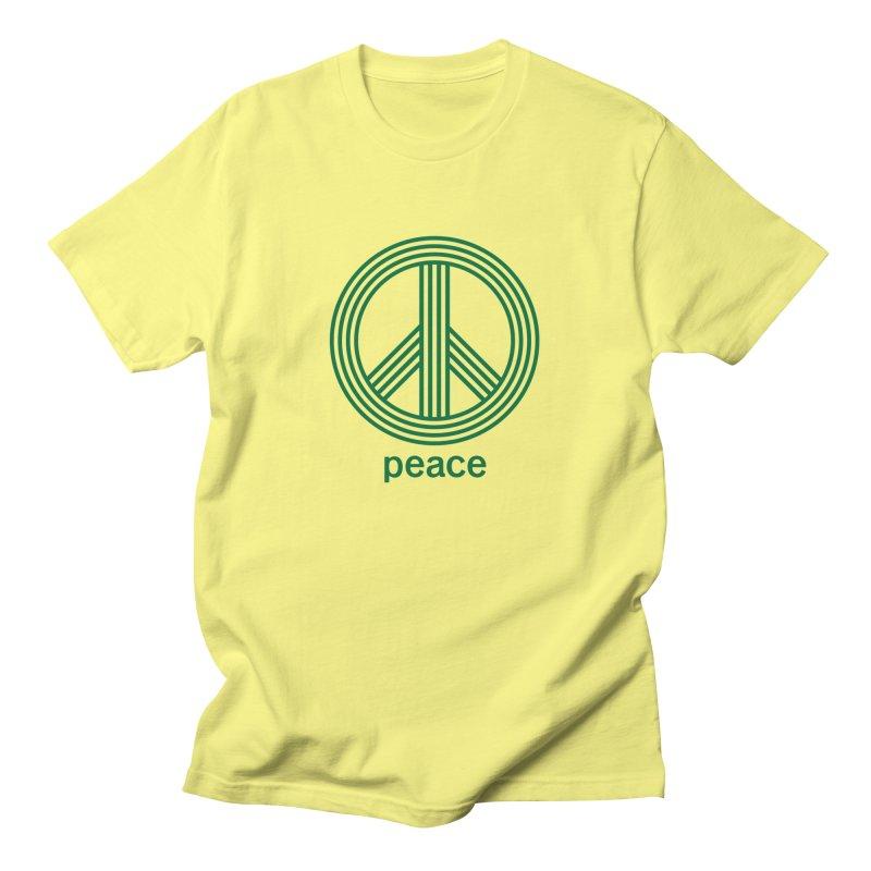 Peace Men's T-Shirt by elizabethreay's Artist Shop