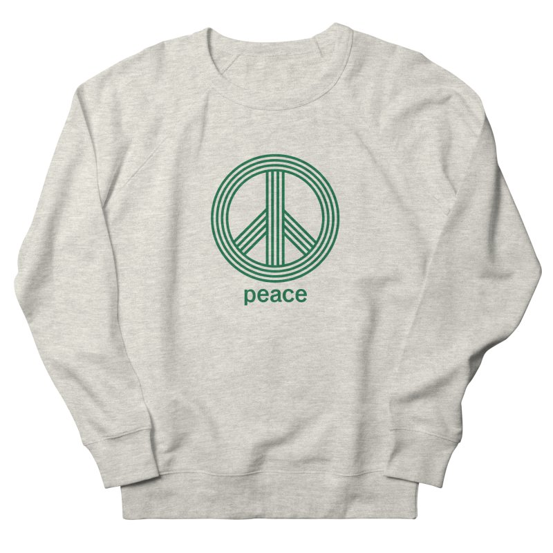 Peace Men's French Terry Sweatshirt by elizabethreay's Artist Shop
