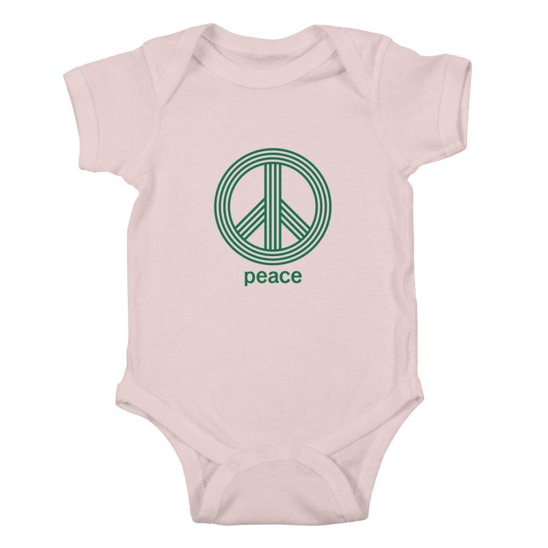 Peace Kids Baby Bodysuit by elizabethreay's Artist Shop