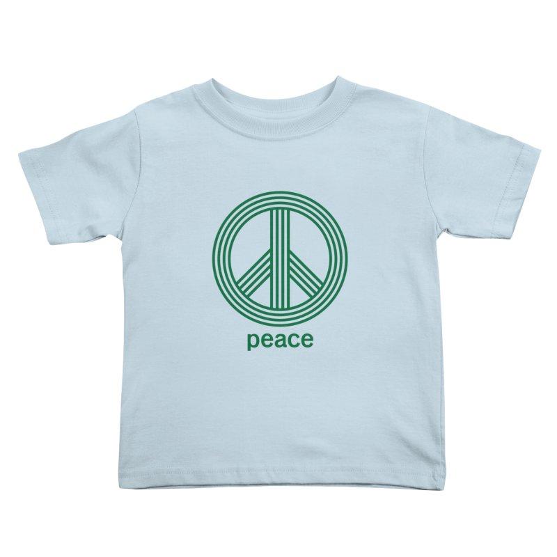 Peace Kids Toddler T-Shirt by elizabethreay's Artist Shop