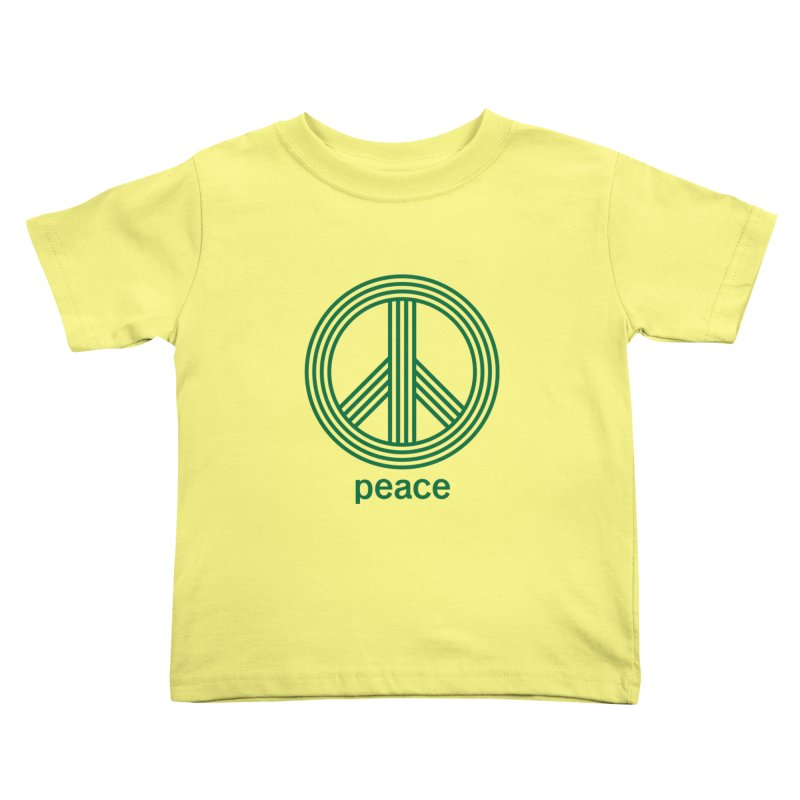 Peace Kids Toddler T-Shirt by elizabethreay's Artist Shop