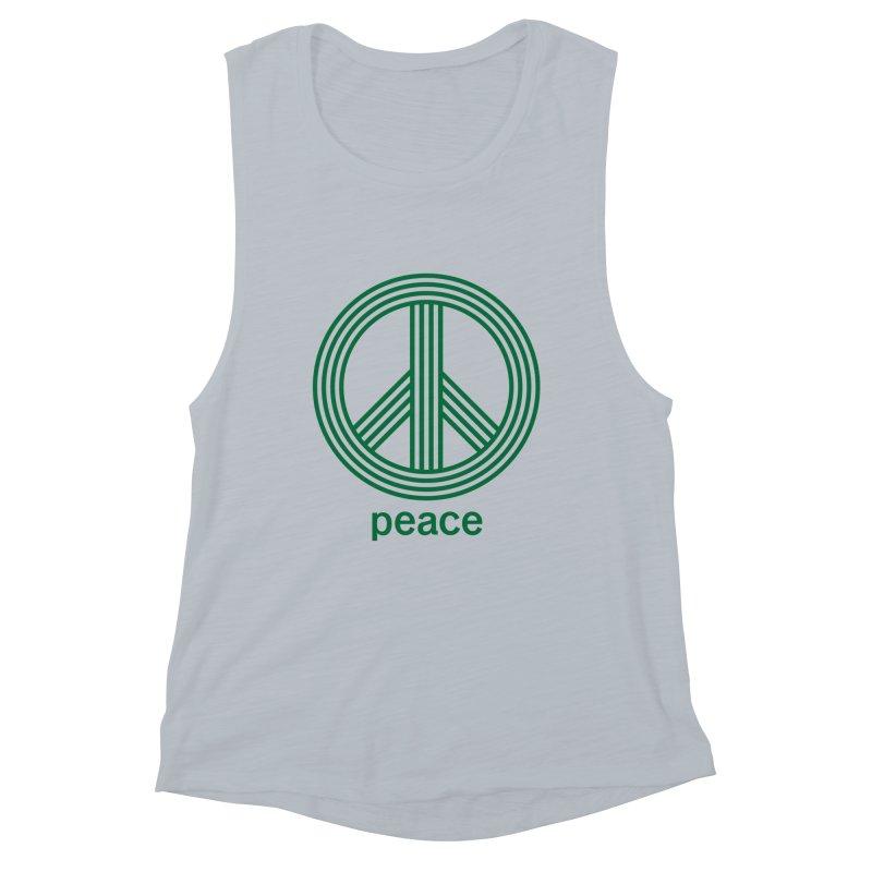 Peace Women's Muscle Tank by elizabethreay's Artist Shop