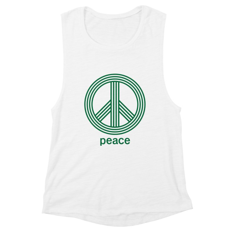 Peace Women's Muscle Tank by elizabethreay's Artist Shop