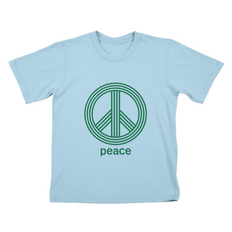 Peace Kids T-Shirt by elizabethreay's Artist Shop