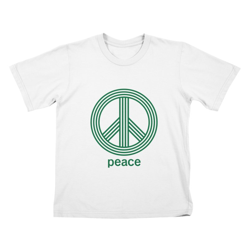 Peace Kids T-Shirt by elizabethreay's Artist Shop