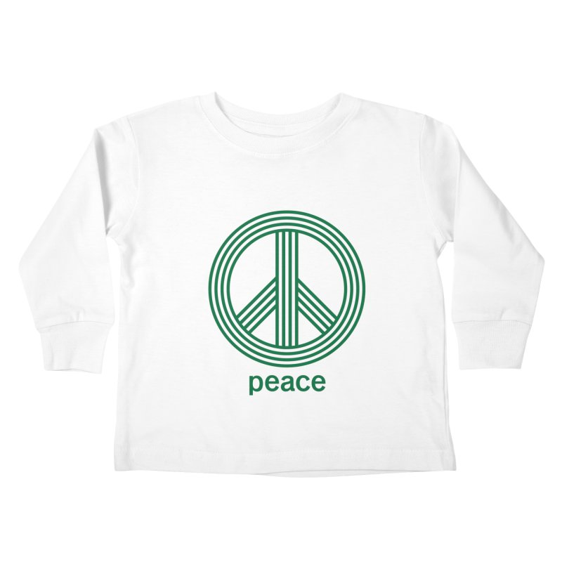 Peace Kids Toddler Longsleeve T-Shirt by elizabethreay's Artist Shop