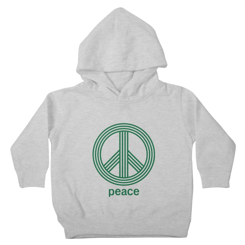 Peace Kids Toddler Pullover Hoody by elizabethreay's Artist Shop