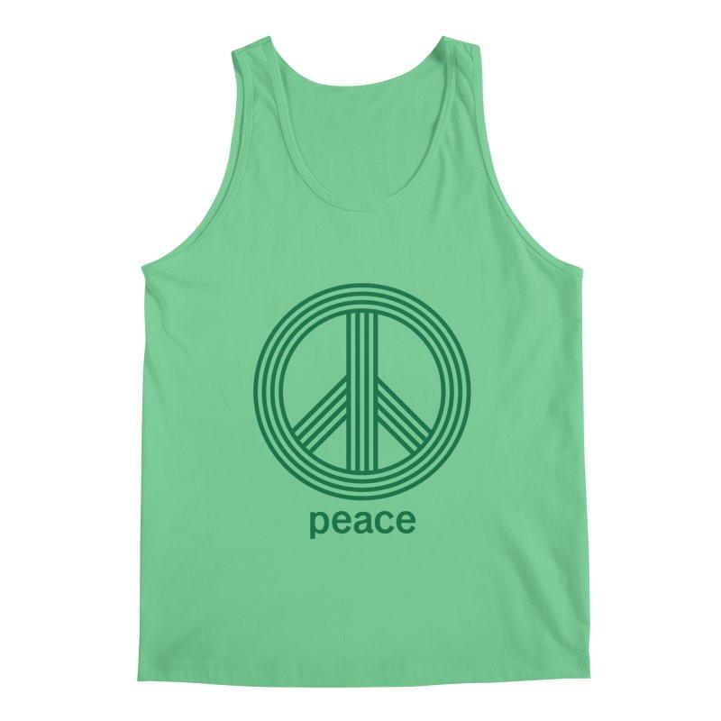 Peace Men's Regular Tank by elizabethreay's Artist Shop