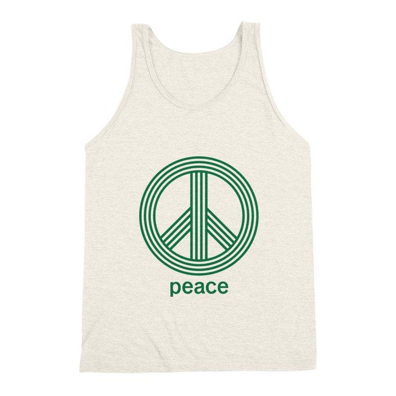 Peace Men's Triblend Tank by elizabethreay's Artist Shop