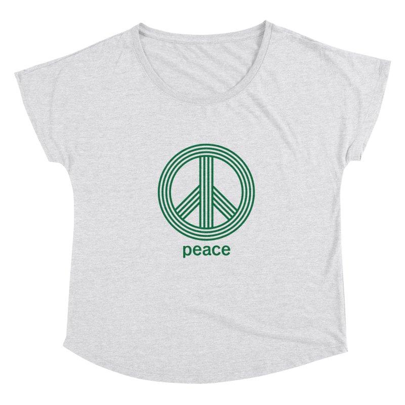 Peace Women's Scoop Neck by elizabethreay's Artist Shop