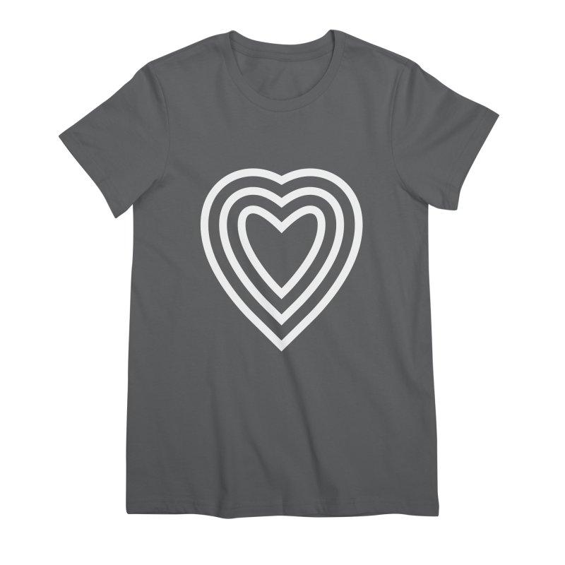 Love Women's Premium T-Shirt by elizabethreay's Artist Shop