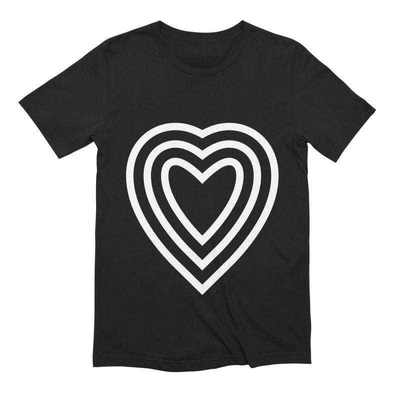 Love Men's Extra Soft T-Shirt by elizabethreay's Artist Shop